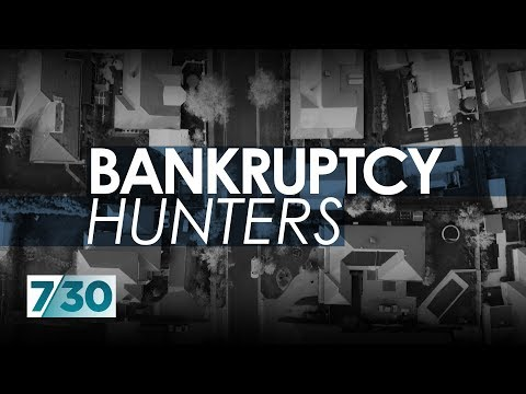Debt collectors pushing people into bankruptcy | 7.30