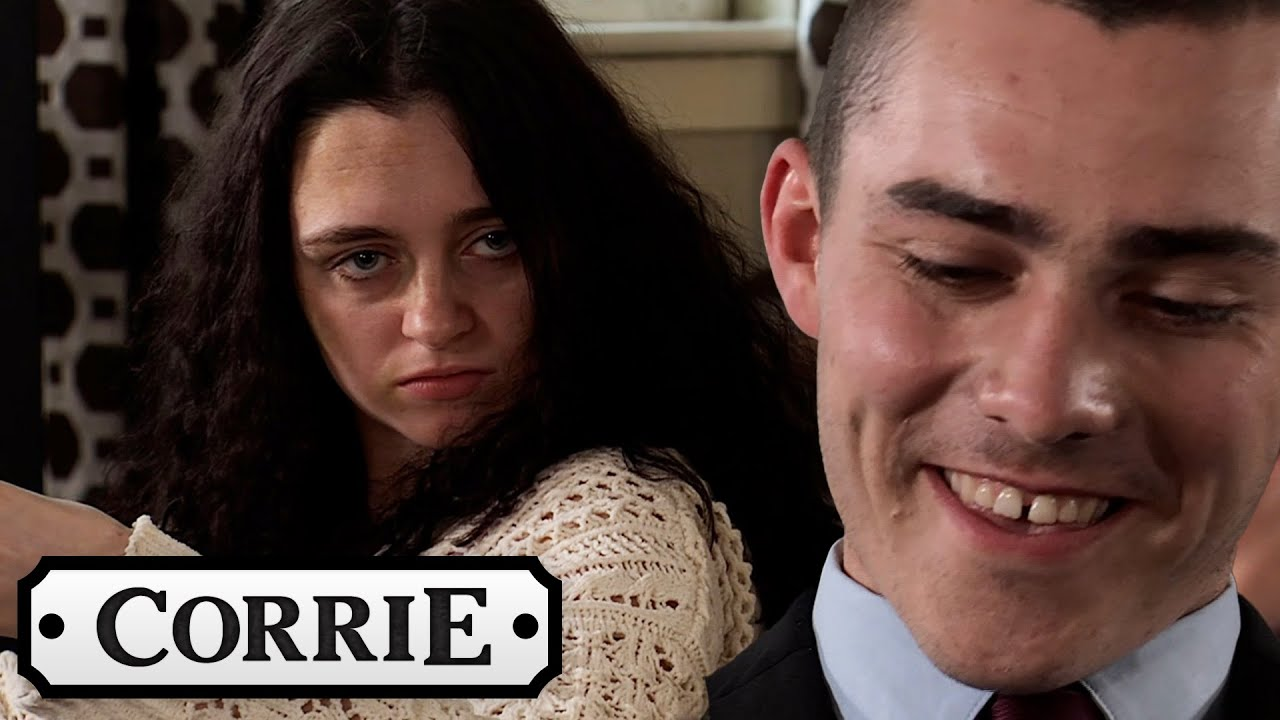 Nina Is Disgusted to See Corey Meeting With Weatherfield County FC   Coronation Street