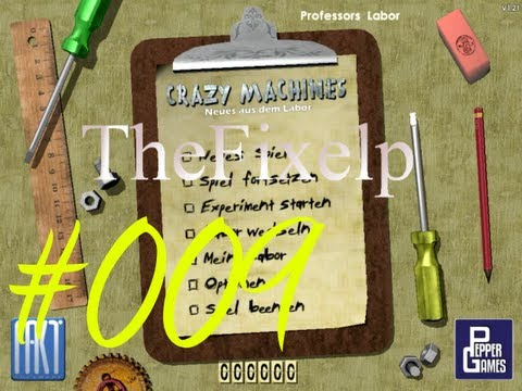 Let's Play Crazy Machines Gold Edition[Semi-Blind]: Neues aus dem Labor #009  