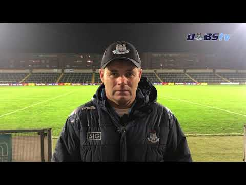 Dessie Farrell chats to DubsTV after victory over Westmeath