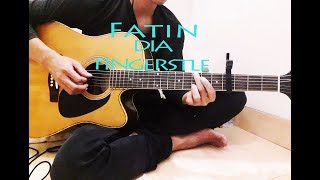 Video Fatin - dia dia dia cover gitar fingerstyle ( EENK JHON ) download MP3, 3GP, MP4, WEBM, AVI, FLV Juni 2018