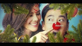 Christmas Photo Slideshow - After Effects Project Template