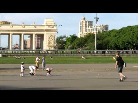 Gorky Central Park of Culture and Leisure ( Центральный парк культуры и отдыха) , Moscow, Russia