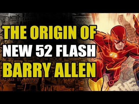 The Flash Rebirth: New 52 Flash/Barry Allen Origin