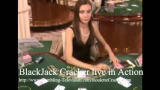 Black Jack BlackJack Cracker live in Action Roulette SelMcKenzie Selzer-McKenzie