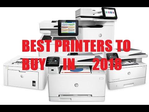 Best Printers 2018 - Top 5 Home Office & Office Printers Hp, Epson &  Brother Printers