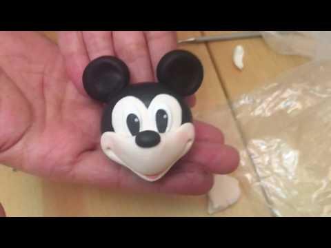 Şeker Hamurundan Karakter Tasarımı - Mickey Mouse Yapımı- Video 1