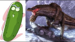 PICKLE - Monster Hunter World Funny Moments (WINS and FAILS) Part 14