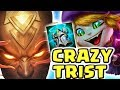 TRISTANA AINT SCARED OF NOTHING!! KNIGHTS VOW IS BROKEN  RIOT EXPOSED  LEE SIN JUNGLE Nightblue3