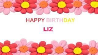 Liz   Birthday Postcards & Postales - Happy Birthday