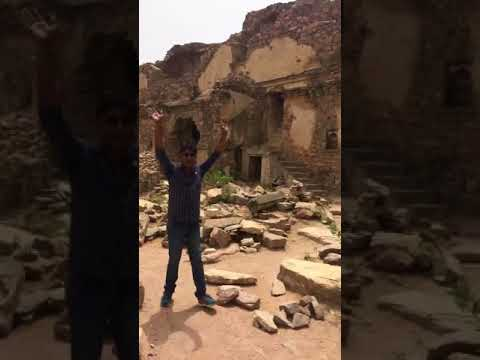 Real Ghost Caught In Camera At Bhangarh Fort. Rajasthan