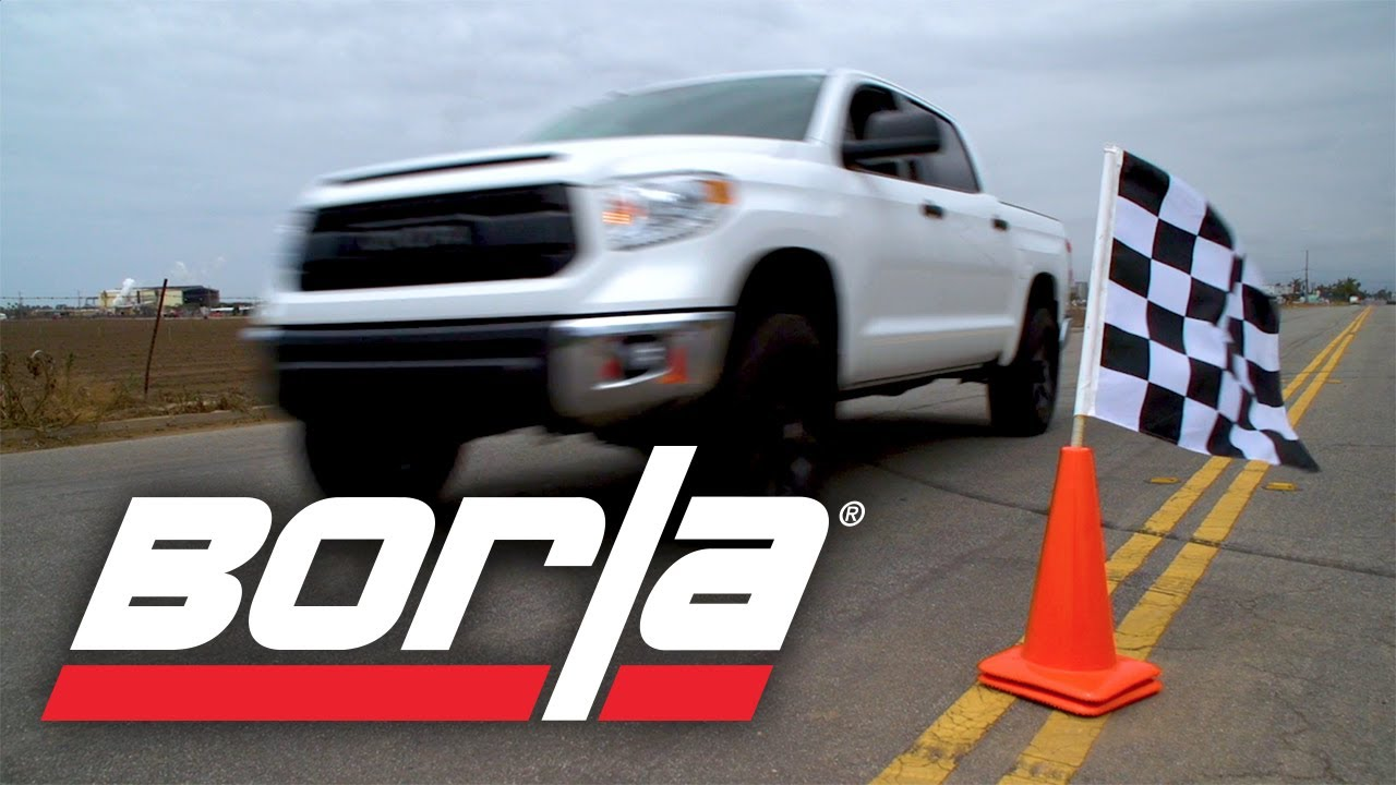 borla exhaust for 2014 2020 toyota tundra 4 6l 5 7l exhaust system sounds