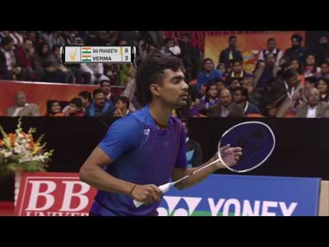 Syed Modi International Badminton C'ships 2017 | F M3-MS | Sai Pranneeth B. vs Sameer Verma