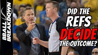 2019 NBA Finals Game 5: Did The Refs Decide The Outcome?