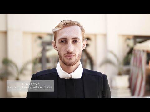 Jacob Abrian, Founder of Arab Fashion Council