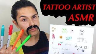 [ASMR] Tattoo Shop Role Play! (Tattoo Tingles!)