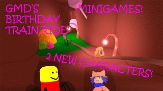 ROBLOX Tattletail Roleplay NEW BIRTHDAY MAP! TRAIN RIDES AND SHOOTING GAMES!