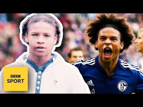 The making of Manchester Citys Leroy Sane - BBC Sport