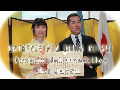 Premio del Canciller del Japón a Delia Mitsui [Entrevista]