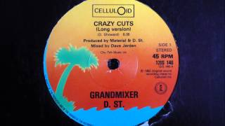 Grandmixer D.ST. - Crazy Cuts Original 12 inch Version 1983