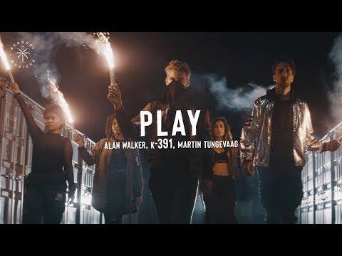 Alan Walker, K 391, Martin Tungevaag - Play (Lyrics)