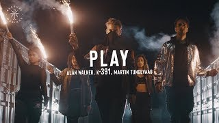 Cover images Alan Walker, K 391, Martin Tungevaag - Play (Lyrics)