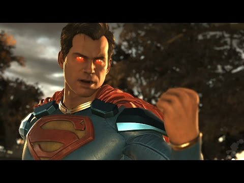 INJUSTICE 2: All SUPERMAN Intros (Dialogue & Character Banter) 1080p HD