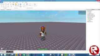 How to make a model of yourself on roblox! [2014]