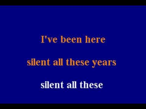 Tori Amos - Silent All These Years - Karaoke