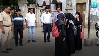 burqa issue students up