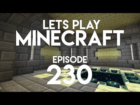►Let's Play Minecraft: EPIC END ROOM! (Episode 230)◄