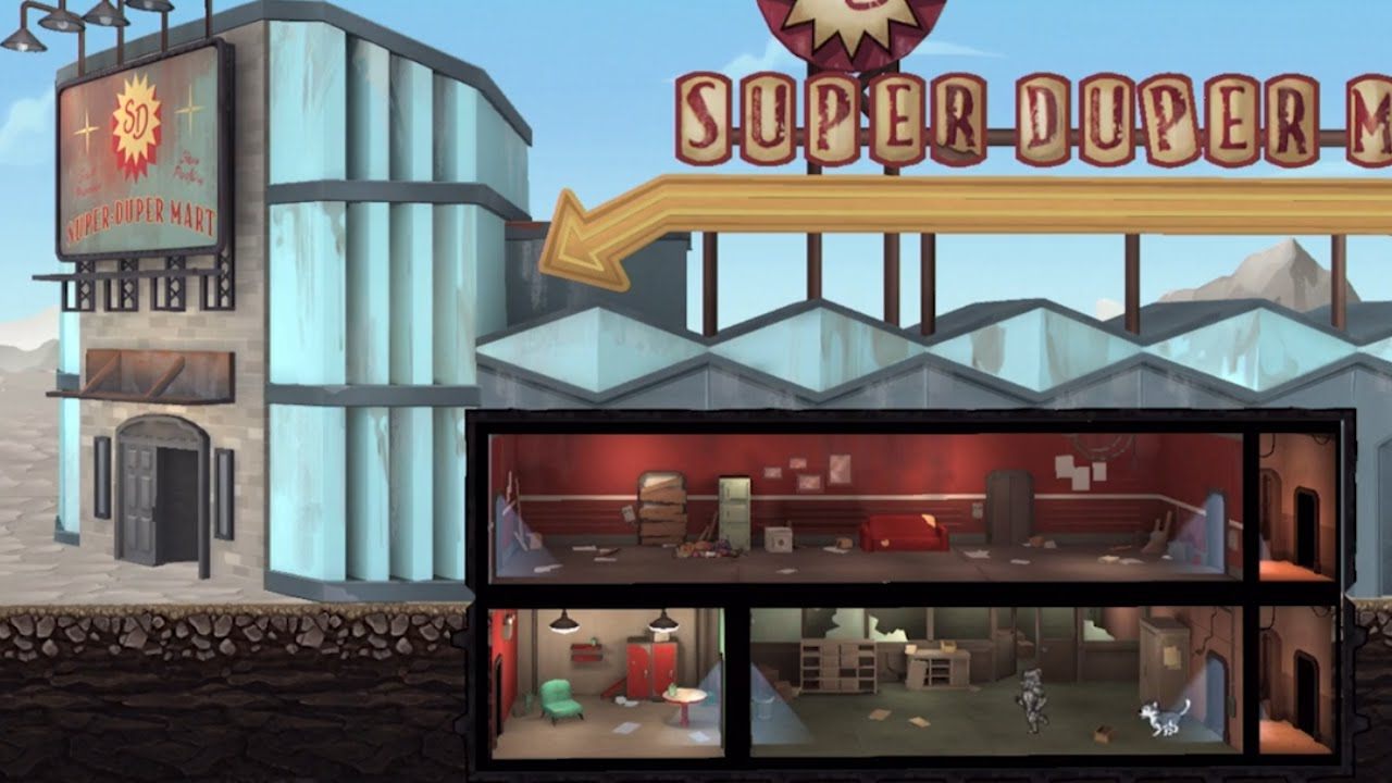 Fallout Shelter | Available on iOS, Android, PC, & Xbox