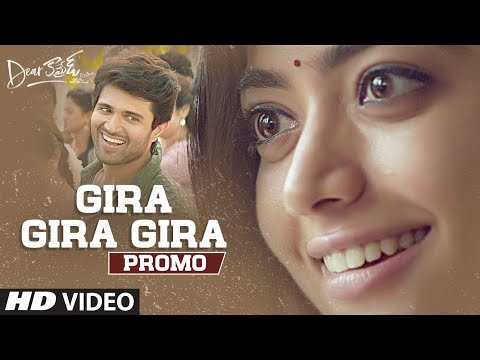 Dear Comrade Telugu movie Gira Gira Gira Video Song Promo Starring Vijay Deverakonda