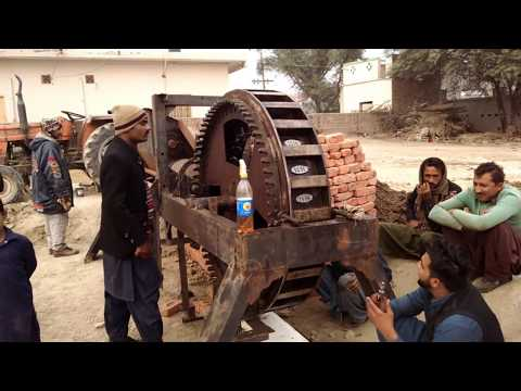 Clay Brick Machine first trial after...