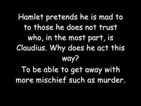 hamlet s madness Humors, madness, and hamlet posted on june 29, 2017 by sf shakes how does all this relate to hamlet the melancholic humor is often used to describe prince hamlet's.