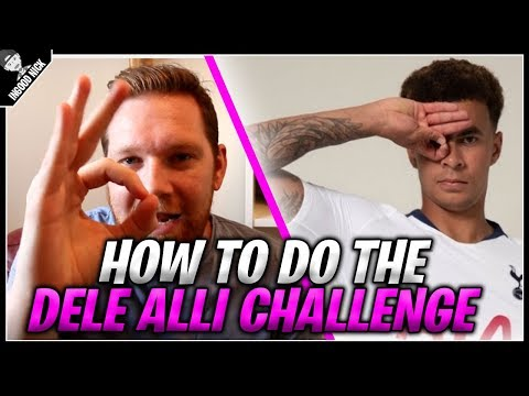 HOW TO DO THE DELE ALLI CHALLENGE | BEST AND WORST COMPILATION | Ingood Nick