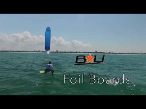 NICO LANDAUER Foiling in St Pete Regatta, Florida with the new OZONE R1V2