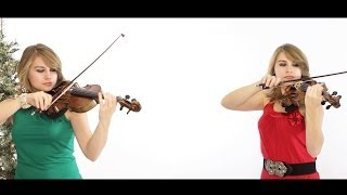 Silent Night - Violin Duet - Taylor Davis (Merry Christmas!!)