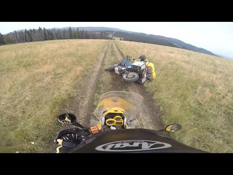Continental Divide Trail, Part 1. Crashes start at 4:10