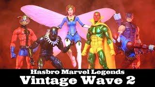 FwooshCast Review: Marvel Legends Vintage Wave 2 Hasbro Action Figures