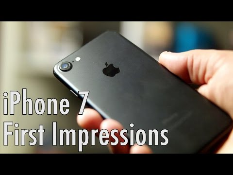 Apple iPhone 7 first impressions: Launch day in Pasadena California!