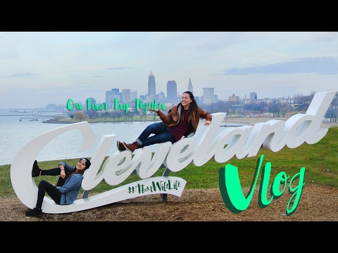 FULL CLEVELAND VLOG: OUR FIRST TRIP TOGETHER | That Wife Life | Lesbian Couple