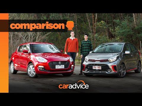 2019 Suzuki Swift GL Navigator With Safety Pack V Kia Picanto GT-Line | Small Car Comparison
