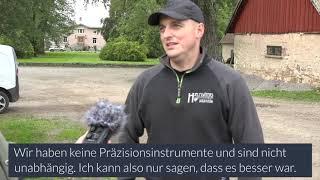 Biokohleproduktion in Hällekis (SE)