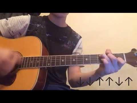 Ханна - Изучай меня на гитаре разбор