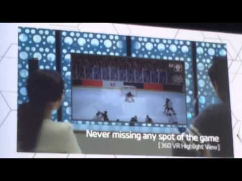 Korea Telecom 2018 Winter Olympics on 5G vision