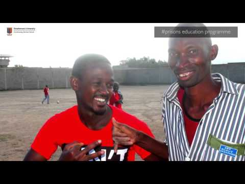 You visited me in prison: Strathmore Community Outreach Programme
