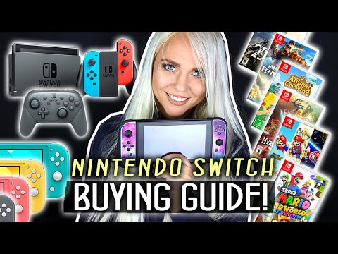 Nintendo Switch Buying Guide 2021 / Best FREE Games + Best Starter Pack Games for Beginners!