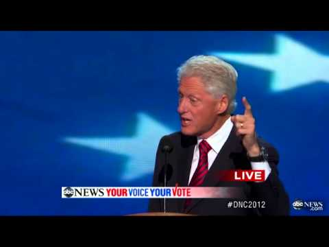 Bill Clinton DNC Speech COMPLETE: