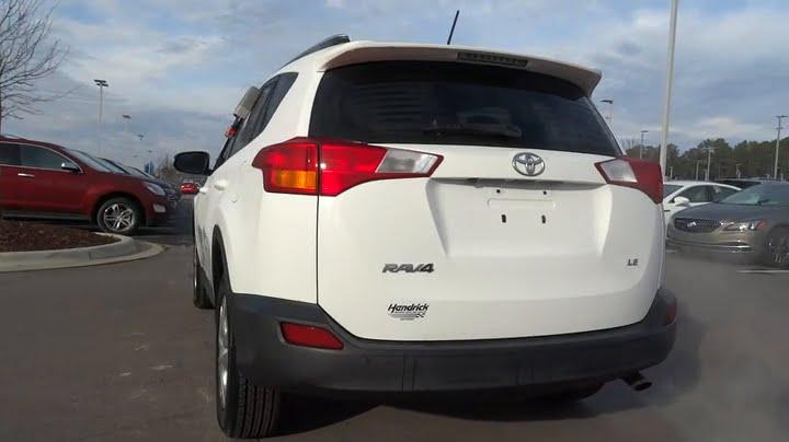 Hendrick Gmc Cary >> 2014 Toyota RAV4 Durham, Chapel Hill, Raleigh, Cary, Apex, NC GP11329 - YouTube